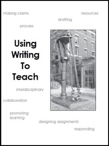 Image of book cover: Using Writing to Teach