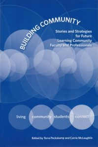 Book cover of Building Community