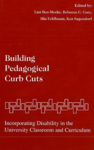 Book cover of Building Pedagogical Curb Cuts